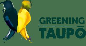 Greening Taupo logo
