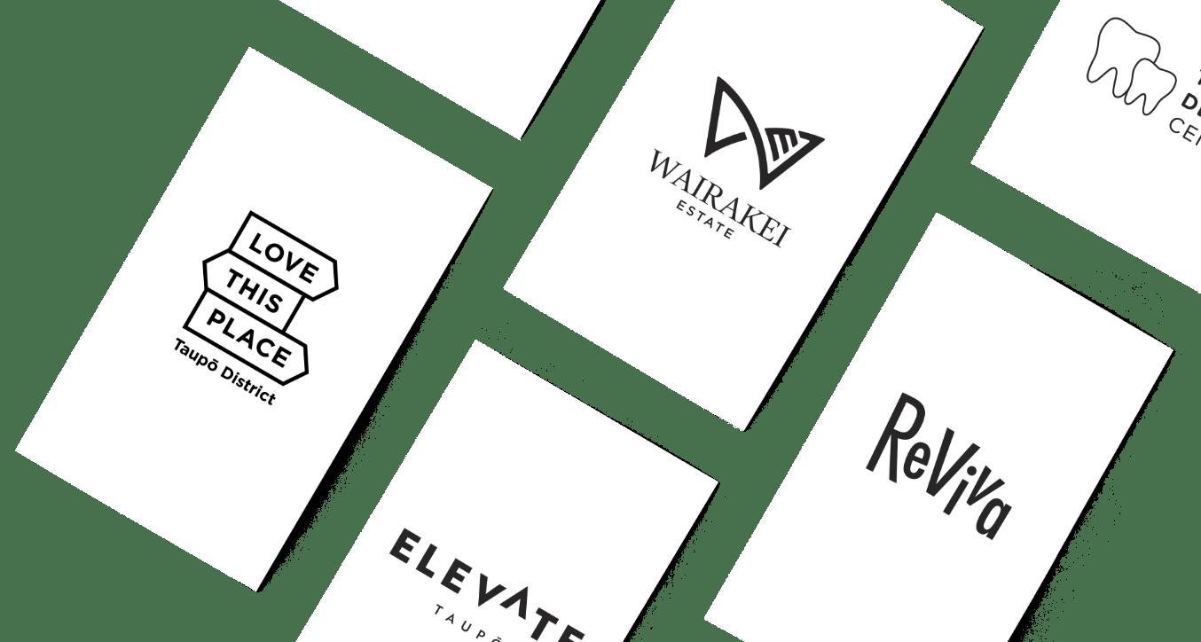 Logos on cards