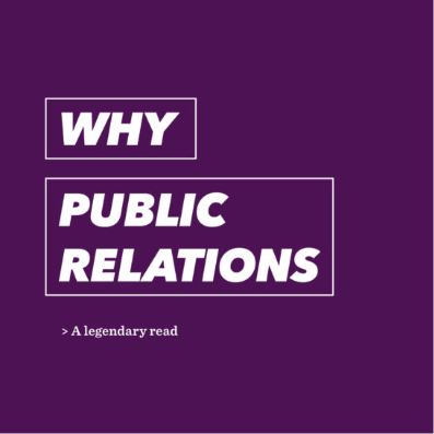 Why public relations