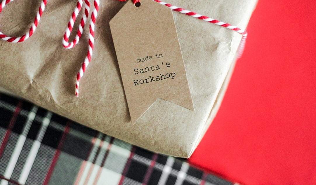 Sustainable Christmas gift wrapping