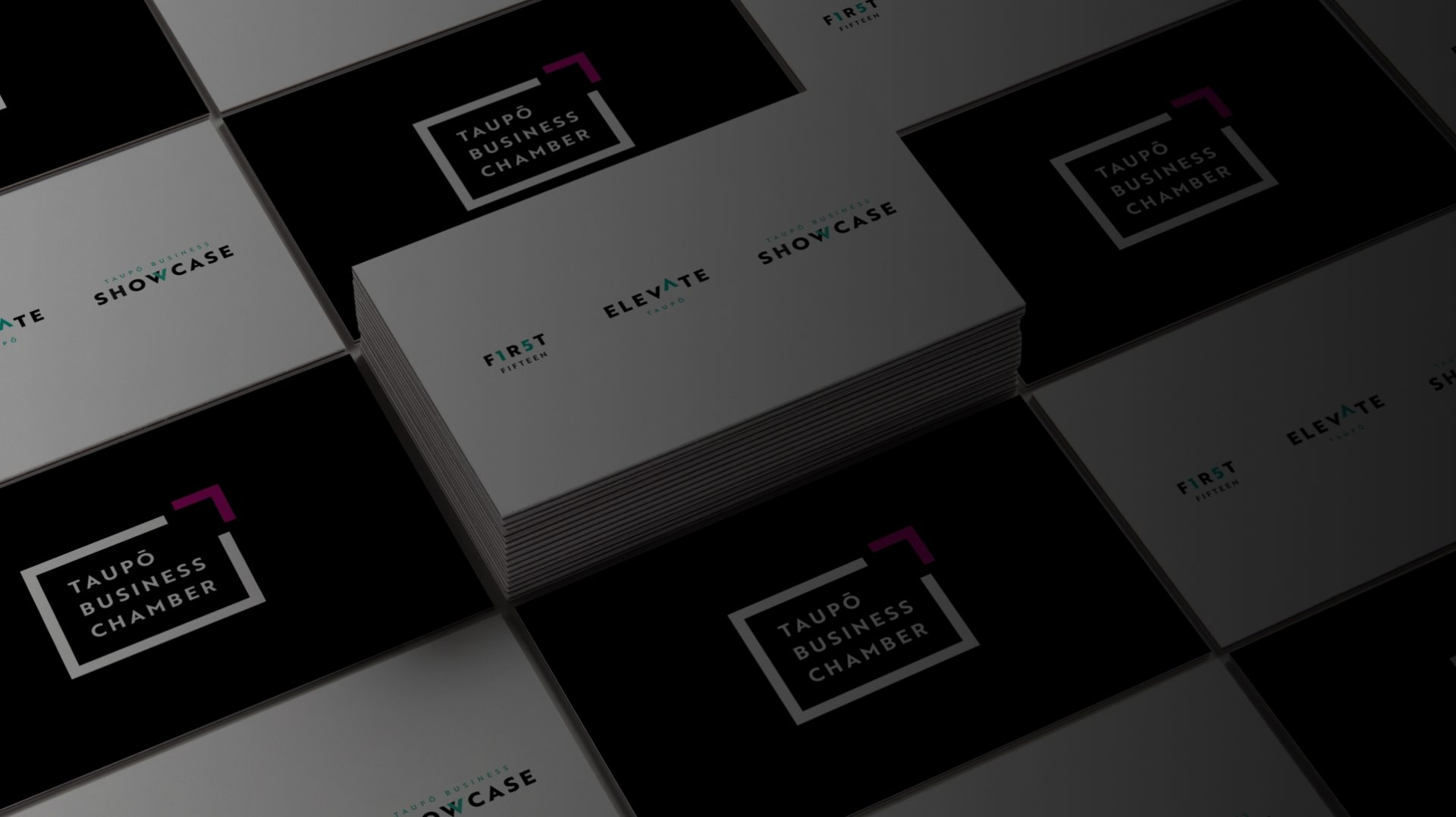 Taupo Business Chamber business cards